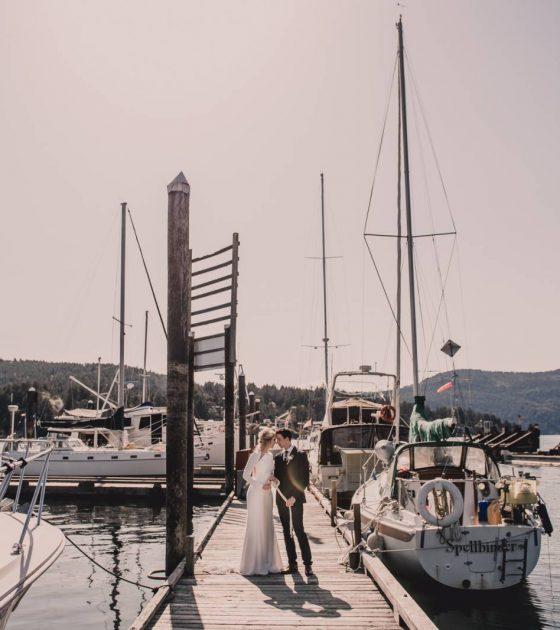Nautical Inspired Seaside Styled Wedding