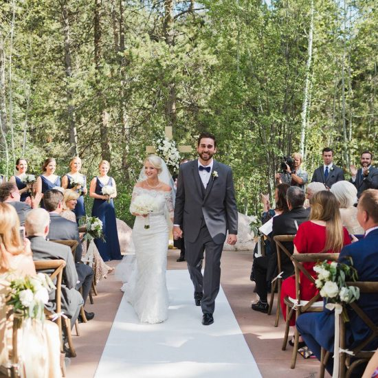 Classy Mountain Wedding in Vail
