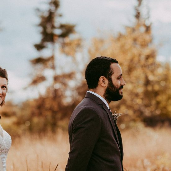 Fall Kalispell Wedding