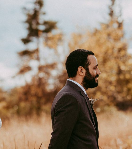 Fall Kalispell Wedding