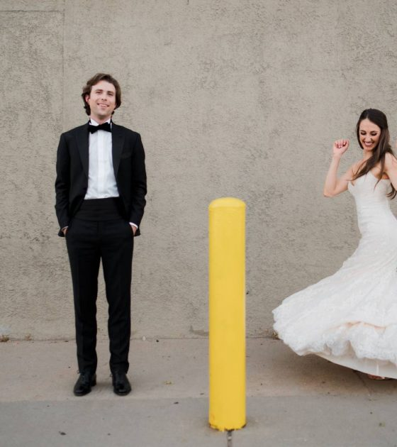 A City Wedding with Mountain Touches