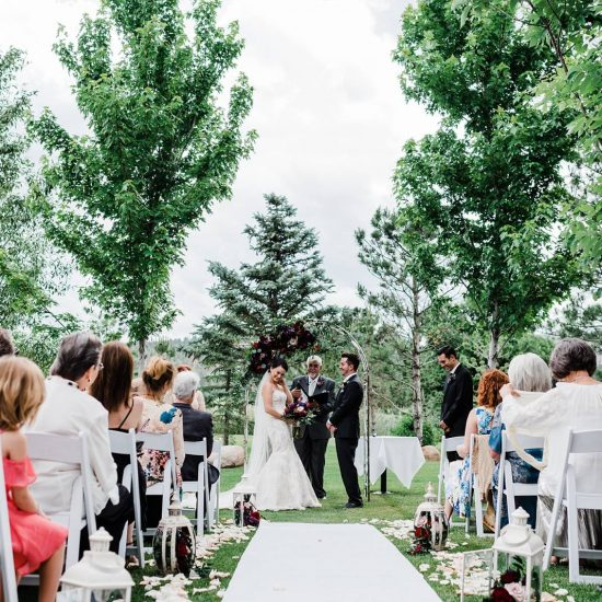 Classic & Colorful Colorado Wedding