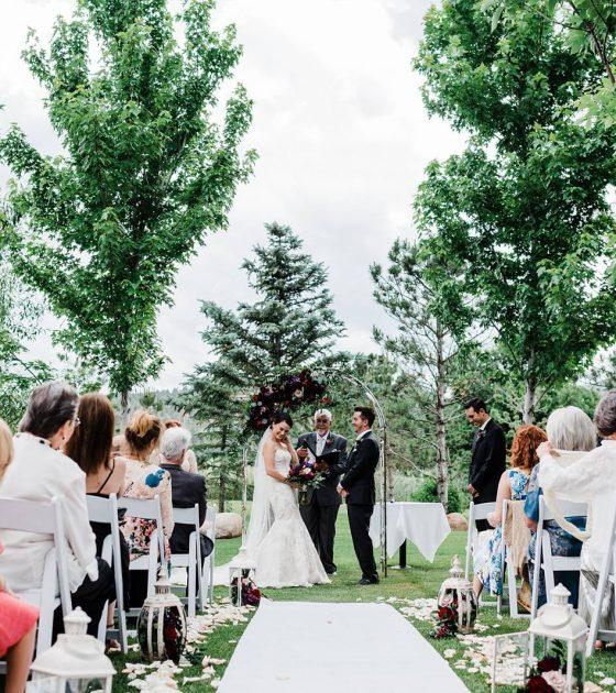 Classic & Colorful Colorado Wedding