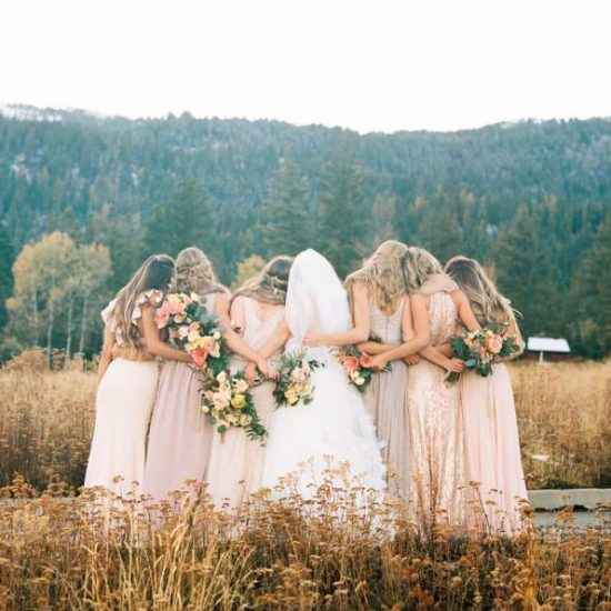 Chilly Fall Wedding in McCall