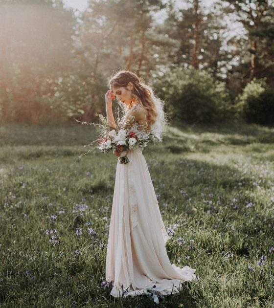 Spring-Inspired Modern Day Bridals