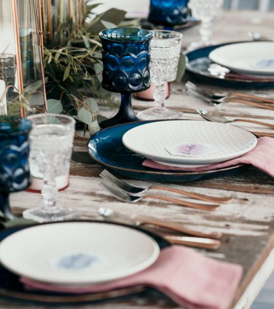 Modern Jewel-Toned Wedding Inspiration