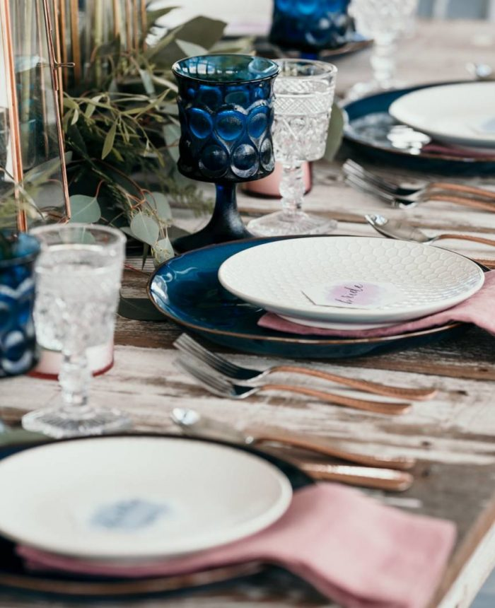 Modern Jewel-Toned Wedding Inspiration