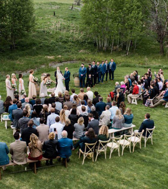 Sophisticated Organic Montana Wedding
