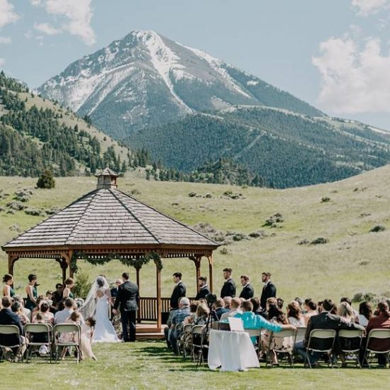 Montana Inspired Chico Hot Springs Wedding