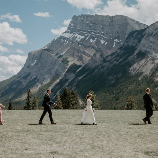 Tunnel Mountain Intimate Elopement