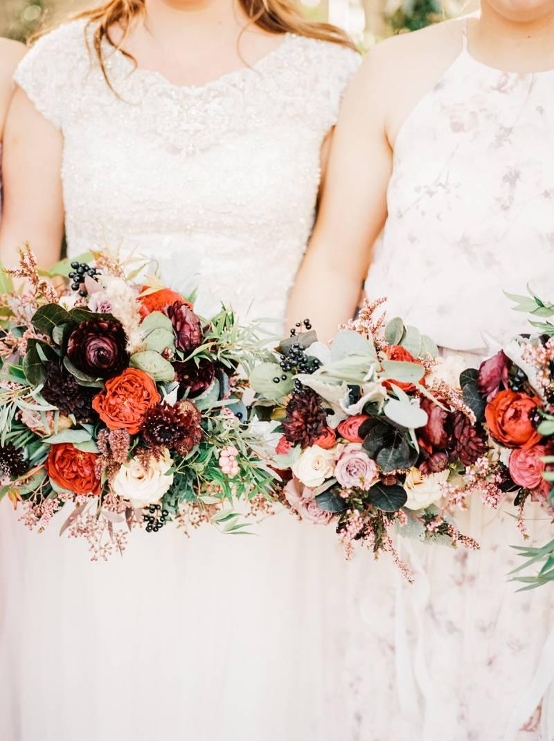 An Idaho Wedding of Floral Abundance