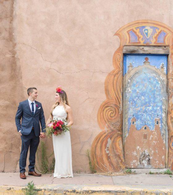 Spanish Inspired Santa Fe Wedding