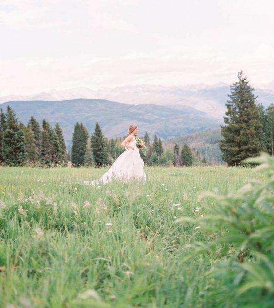 Gorgeous Beaver Creek Mountaintop Bridals