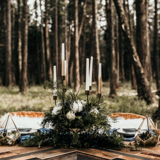 Idaho Woodland Elopement Inspiration