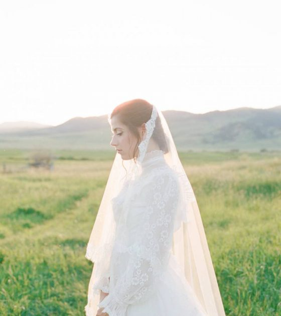 Ethereal Montana Prairie Bridals
