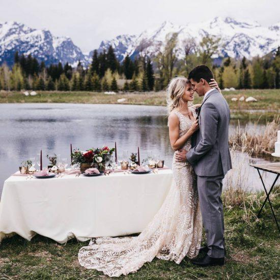 Outdoor Jackson Hole Styled Wedding