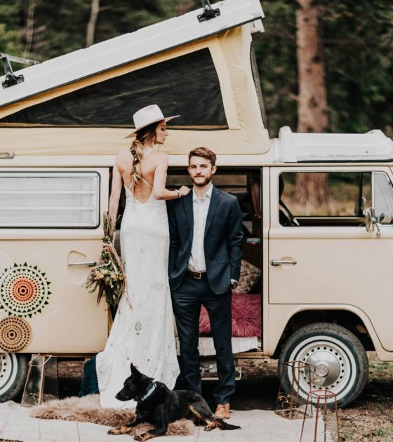 Simply Sweet Van Adventure Elopement | Nederland Elopement