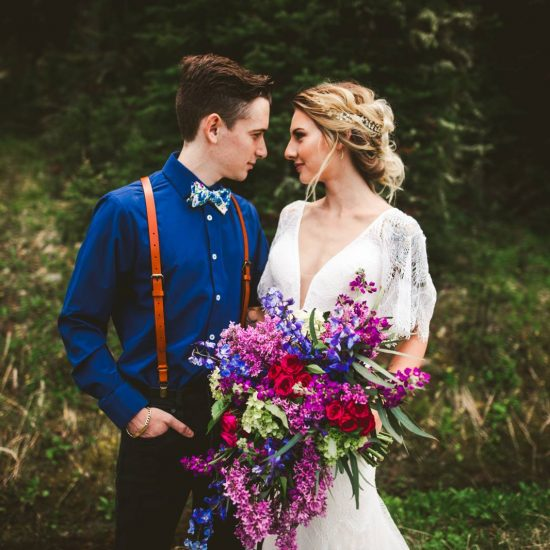 Jewel Tone Montana Elopement Inspiration