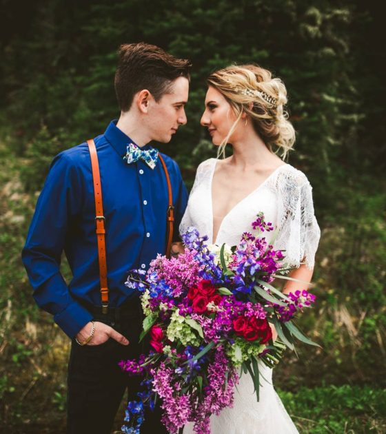 Jewel Tone Montana Elopement Inspiration | Bozeman Elopement