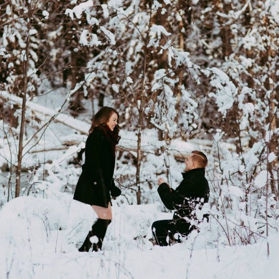 Kamloops Winter Surprise Proposal