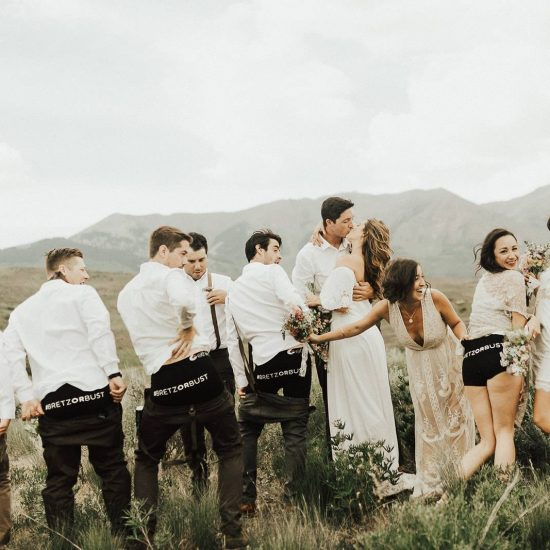 Olympic Snowboarder Marries The Love of His Life