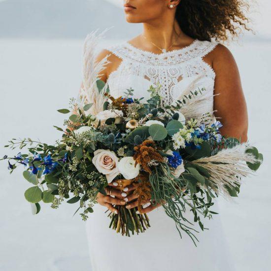 Salt Flats Wedding Inspiration