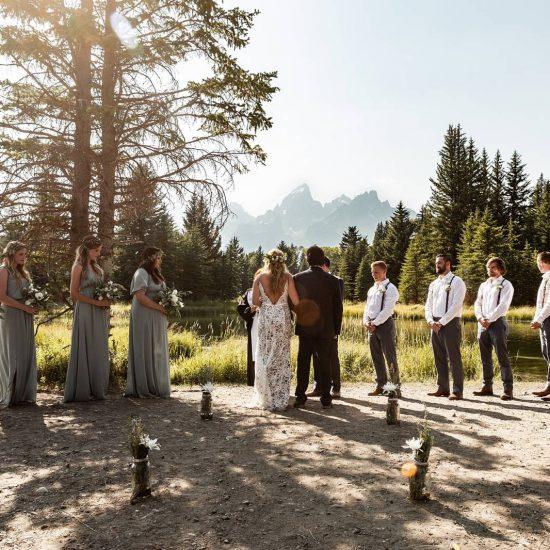 Grand Teton Destination Wedding