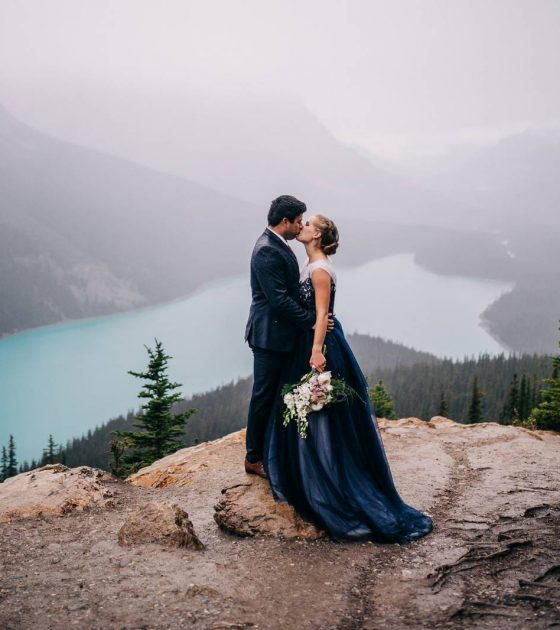 Alberta Adventure Elopement | Banff Elopement
