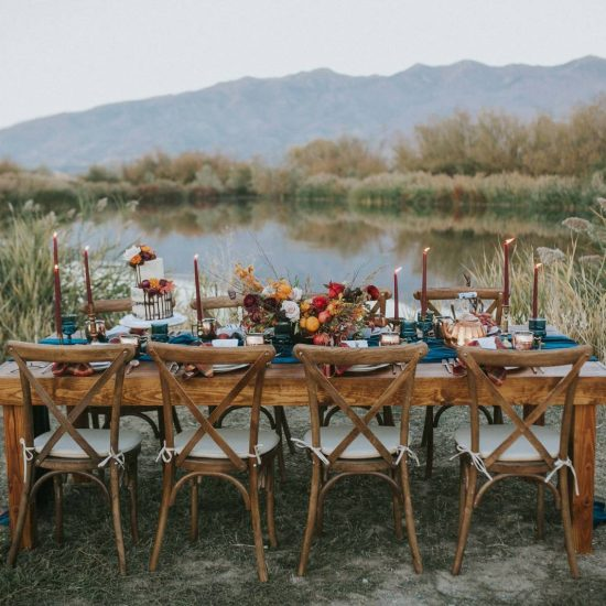 Fall Outdoor Styled Utah Wedding