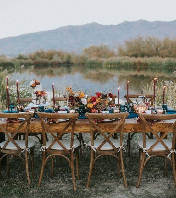 Fall Outdoor Styled Utah Wedding
