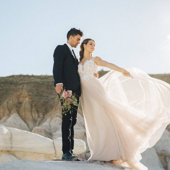 Paint Mines Styled Bridals