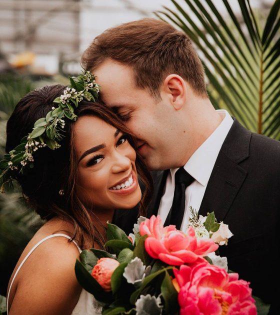 Intimate Greenhouse Wedding