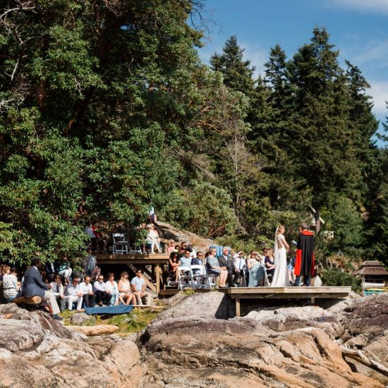 Outdoor Bowen Island Wedding