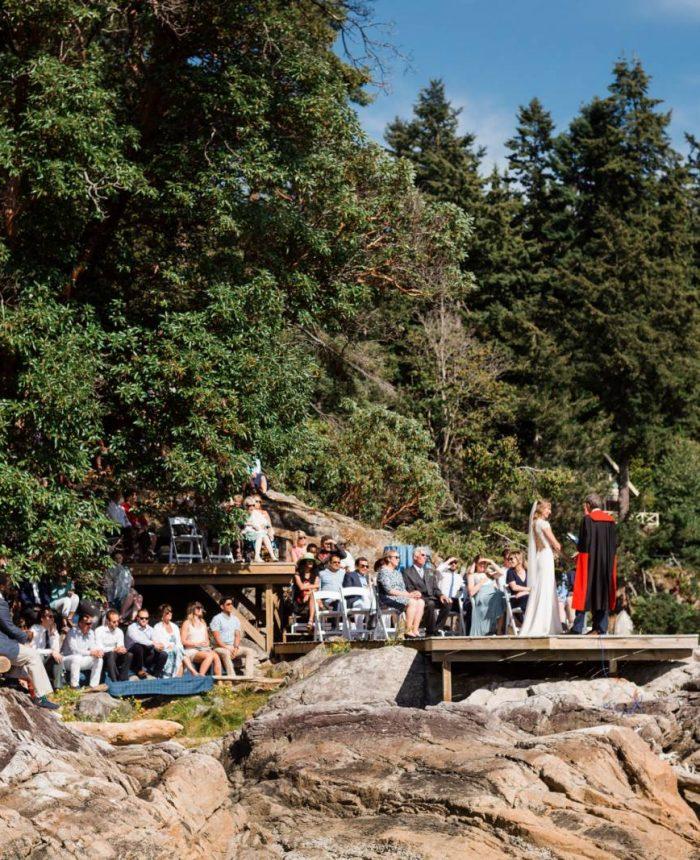 Outdoor Bowen Island Wedding