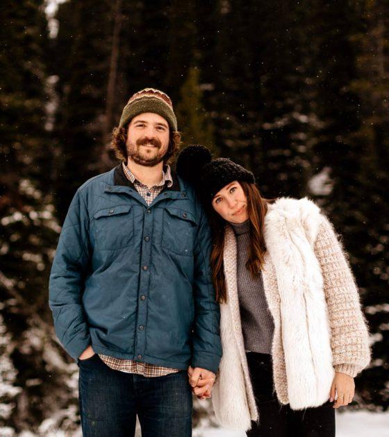 Winter Jackson Hole Engagement