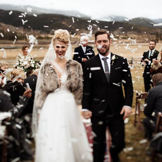 Late Fall Devils Thumb Ranch Wedding