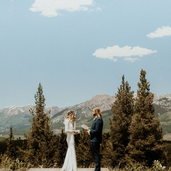 Laid-Back Crested Butte Wedding