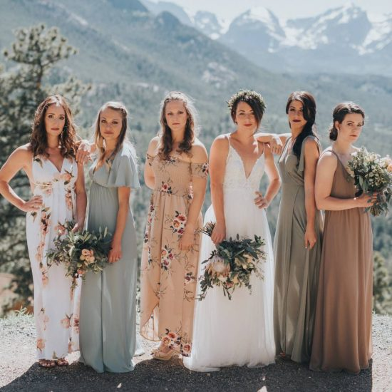 Estes Park Summer Wedding