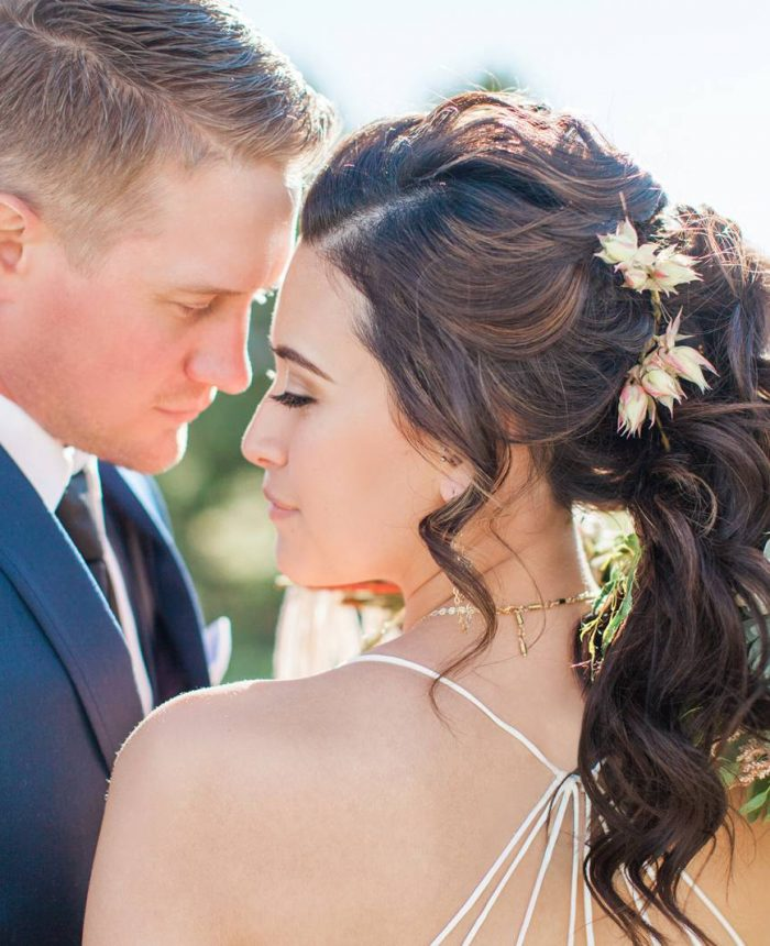 Classy and Clean Montana Elopement Inspiration