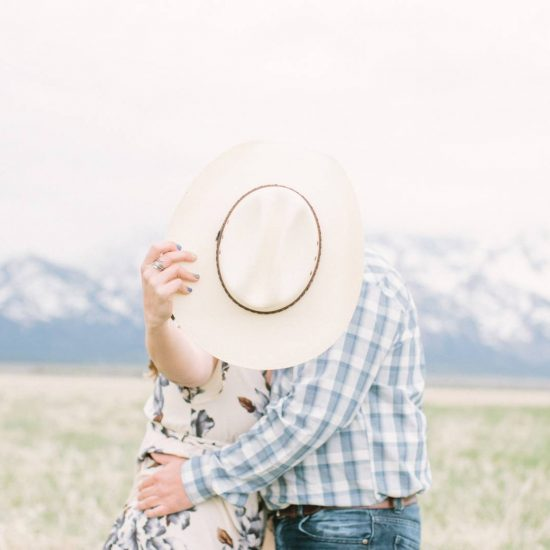 Western Fun Teton Engagement