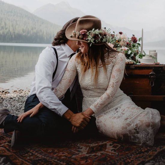 Glacier National Park Elopement Inspiration | Glacier National Park Elopement