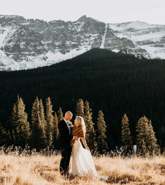 Chilly Telluride Elopement