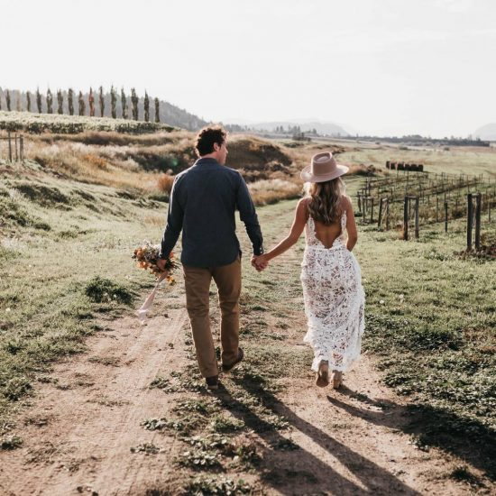 Kamloops Winery Vow Renewal