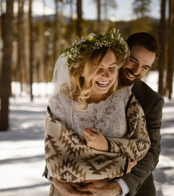 Snowy High Country Lodge Wedding