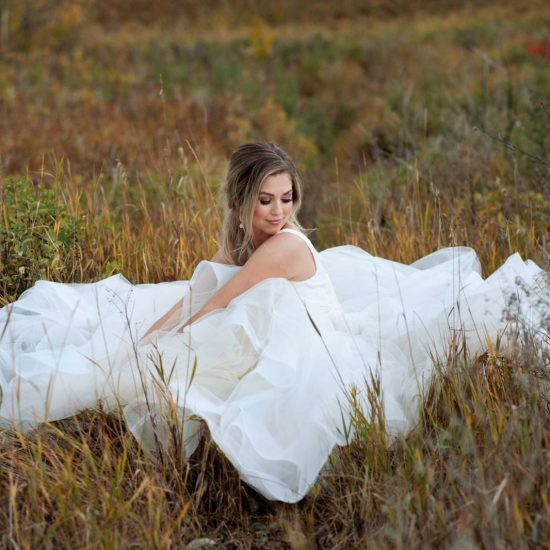 Autumn Inspired Bridal Portraits
