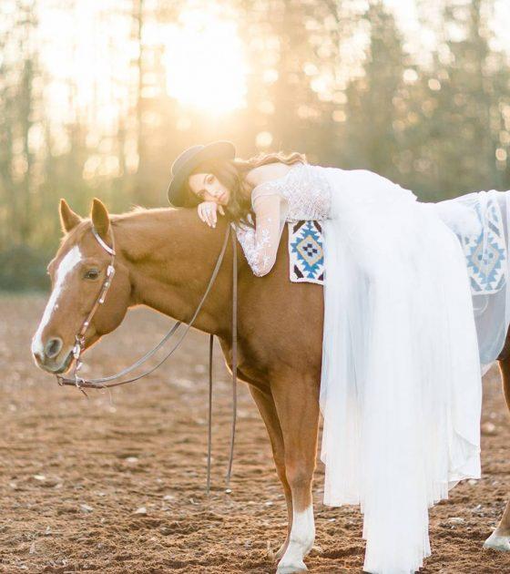 Equestrian Bridal Session