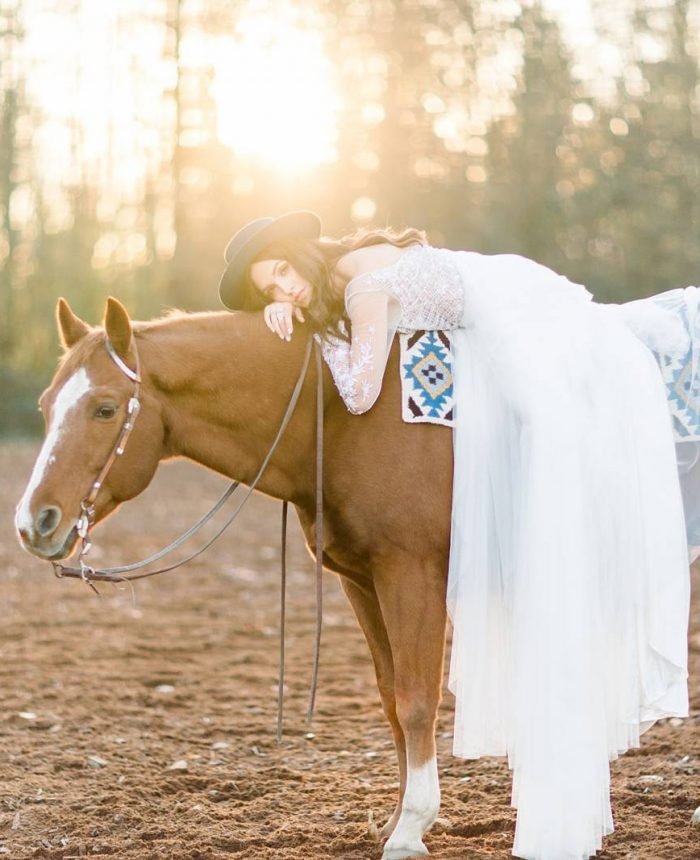 Equestrian Bridal Session