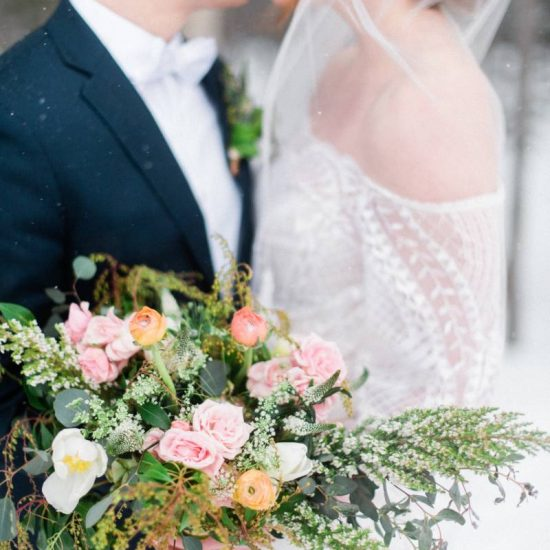 Big Sky Winter Wedding Inspiration