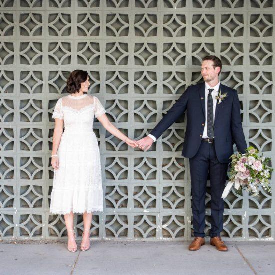 Intimate Montana Courthouse Wedding