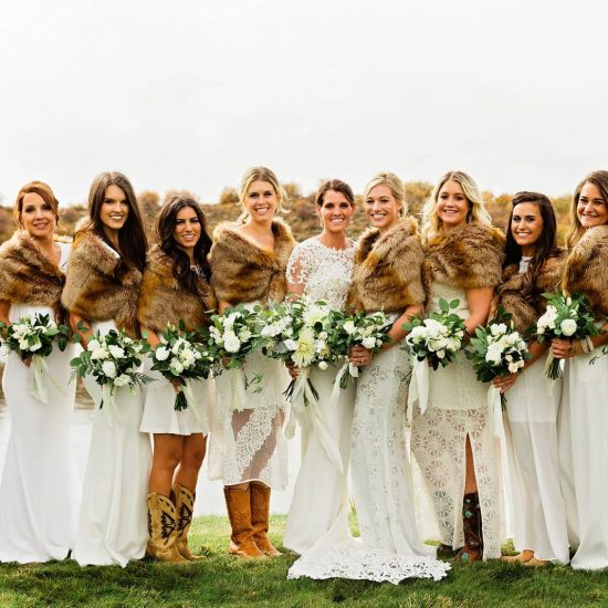 Fall Colorado Ranch Wedding